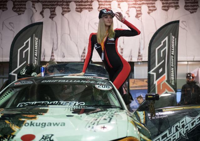 Královny startovních postů na Motorsport Expo