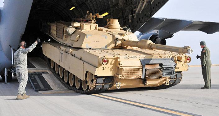 M1A2 Abrams. Ilustrační foto
