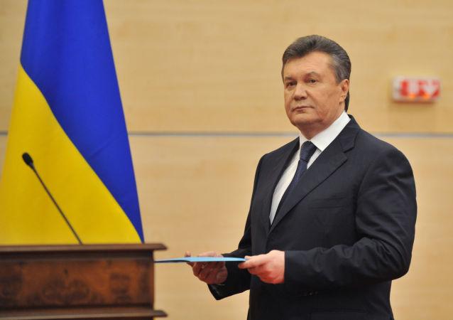 Byvalý ukrajinský prezident Viktor Janukovič