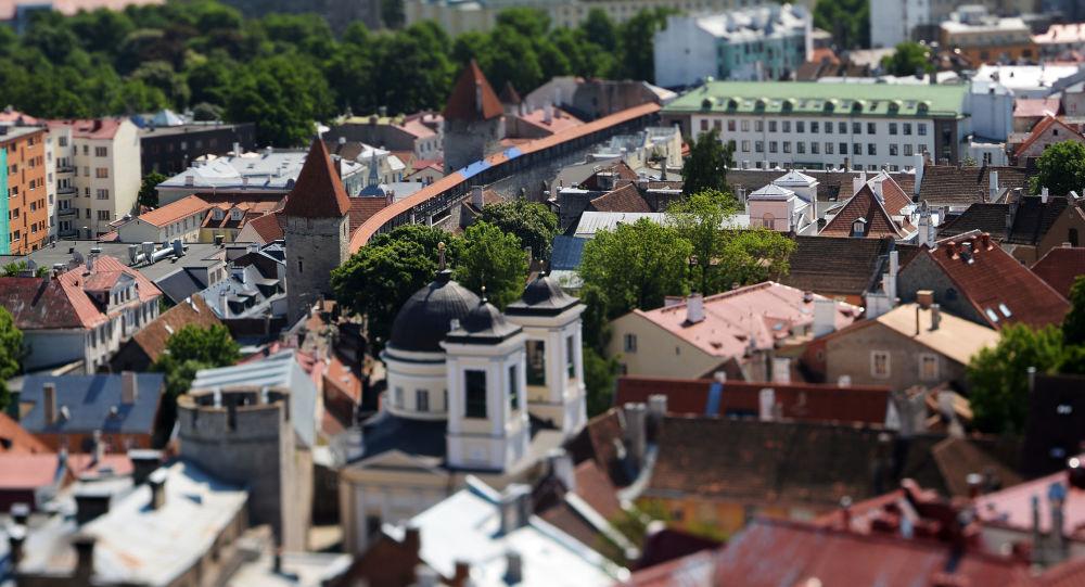 Pohled na Tallinn