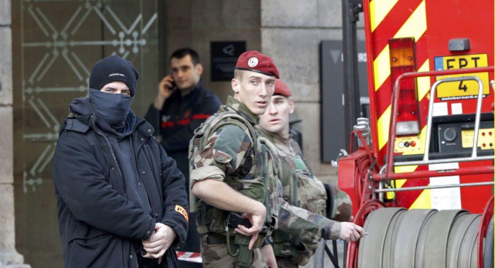 Francouzští vojáci. Ilustrační foto