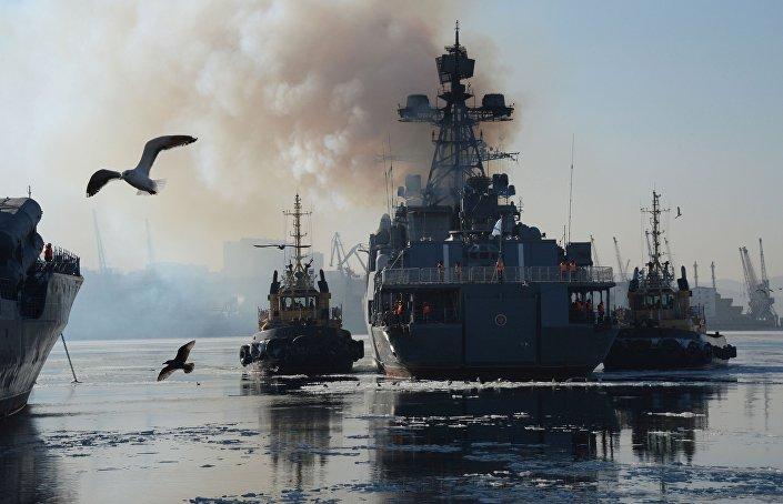 Velký protilodní koráb Admirál Tribuc