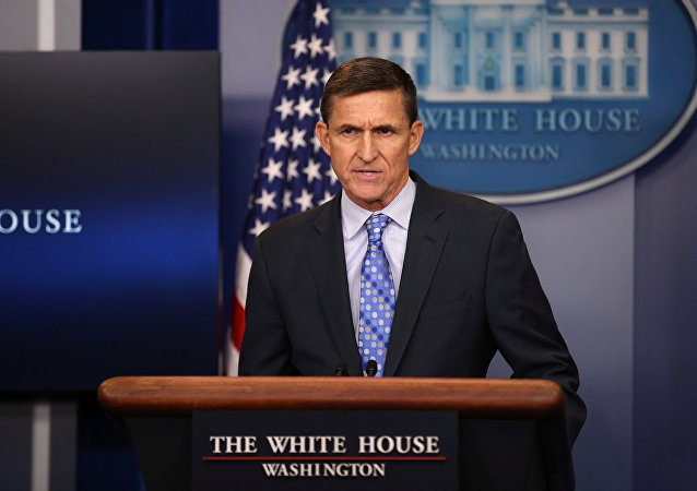 National security adviser General Michael Flynn delivers a statement daily briefing at the White House in Washington U.S., February 1, 2017