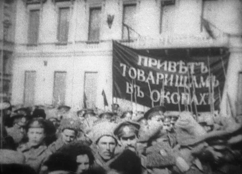 Začátek revoluce v Rusku. Únor 1917