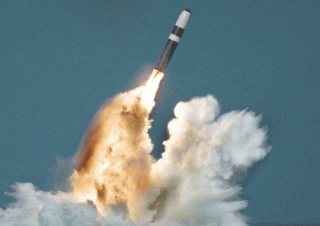 Start rakety Trident II D5. Ilustrační foto