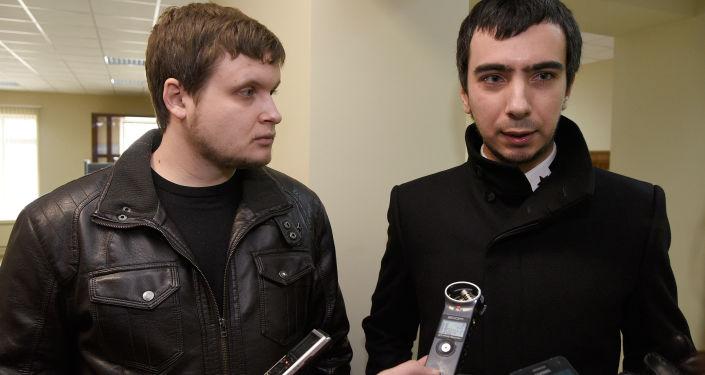 Prankeři Lexus (Andrej Stoljarov) a Vovan (Vladimir Kuzněcov)