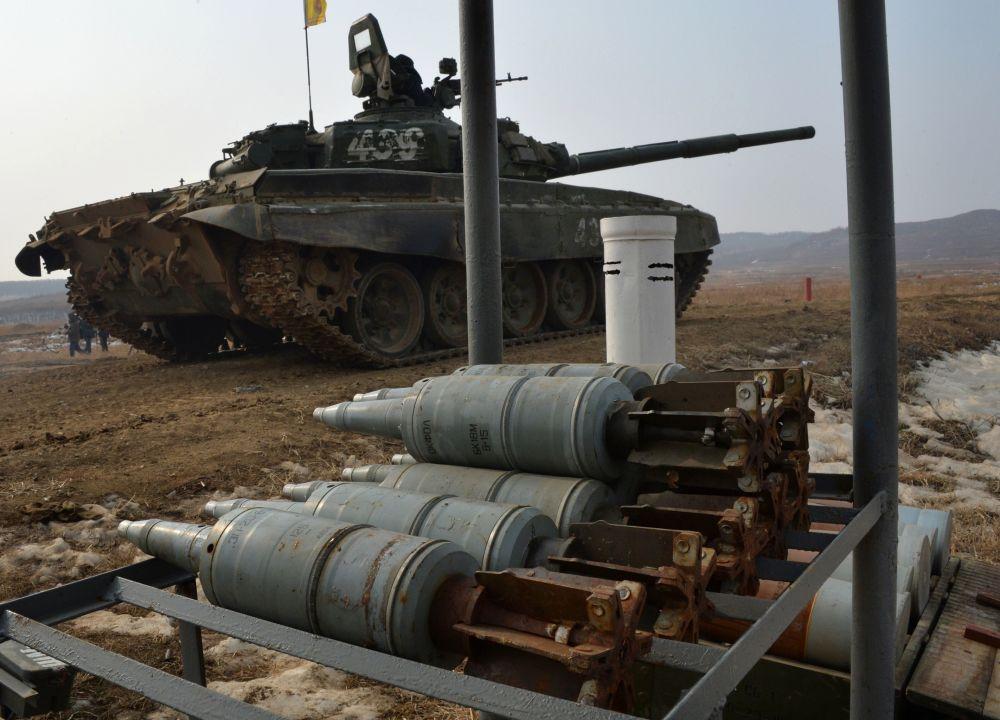 Celoarmádní soutěže Tankový batalion a Suvorovský útok