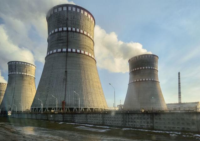 Rovněnská jaderná elektrárna na Ukrajině. Ilustrační foto
