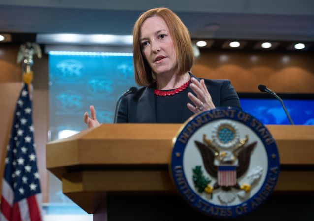 Bývalá mluvčí amerického ministerstva zahraničí a ředitelka komunikací Bílého domu Jen Psakiová