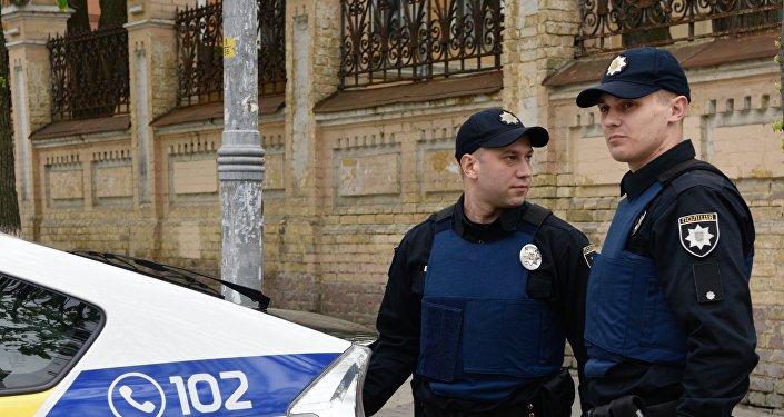 Ukrajinští policisté