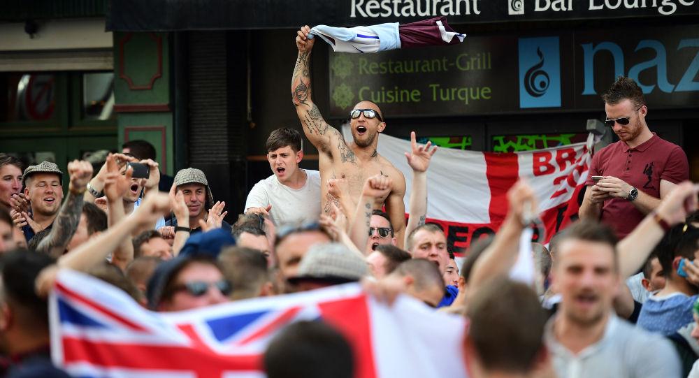 Britští fanoušci na ME 2016 ve Francii