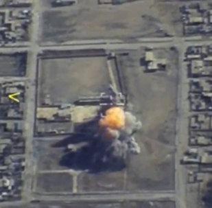 Bombardéry Tu-95 použily okřídlené rakety při útoku na veliteské stanoviště IS