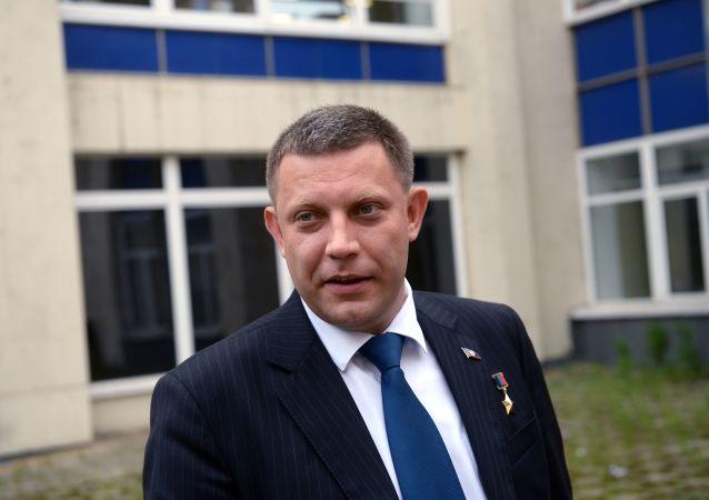 Šéf samozvané Doněcké lidové republiky Aexandr Zacharčenko