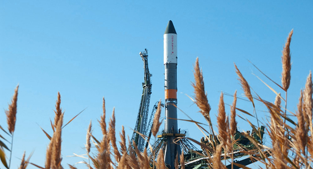 Nosná raketa Sojuz-U. Archivní foto