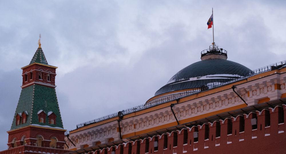 Pohled na Moskevský Kreml
