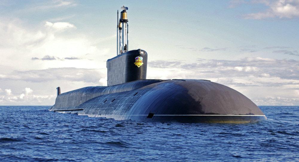 Ruská ponorka Alexandr Nevskij
