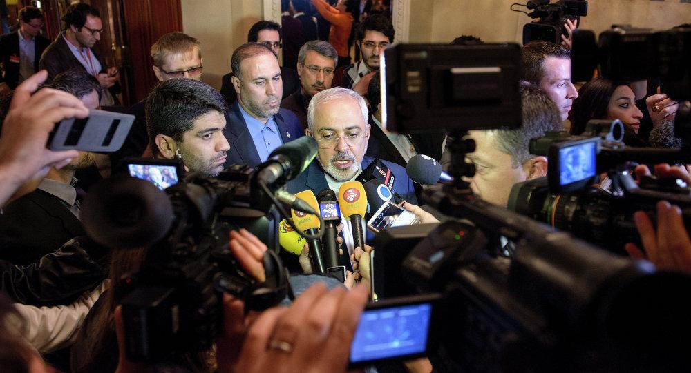 Íránský ministr zahraničních věcí Mohammed Džavad Zaríf