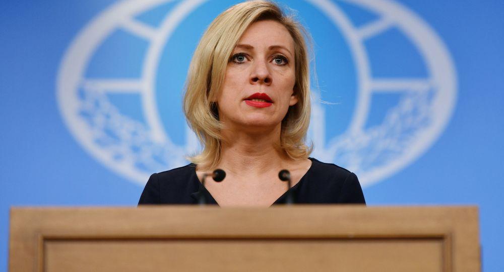 Oficiální mluvčí ruského MZV Marie Zacharovová