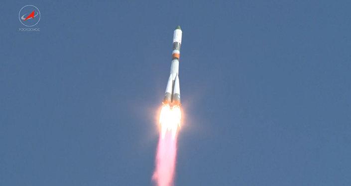 Progress MS startoval z Bajkonuru k ISS poprvé po prosincové havárii