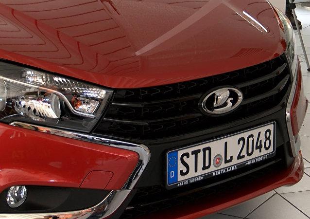 Start prodejů aut Lada Vesta v Německu