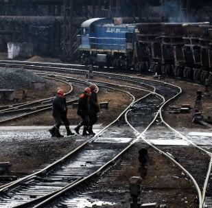 Jenakijevský hutní závod v Doněcké oblasti