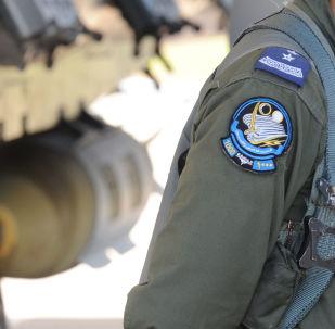 Saúdský pilot vedle stíhačky F-15