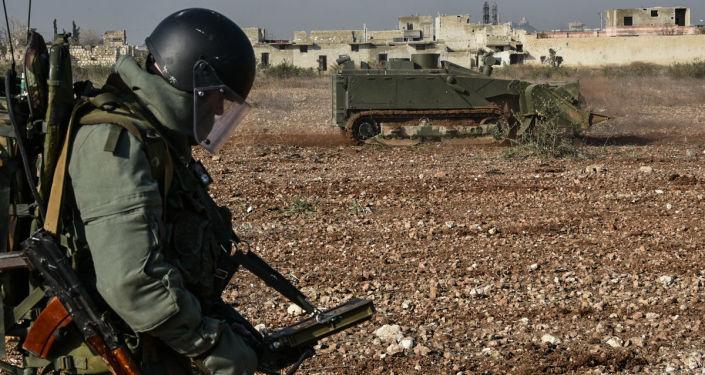 Odminování Aleppa