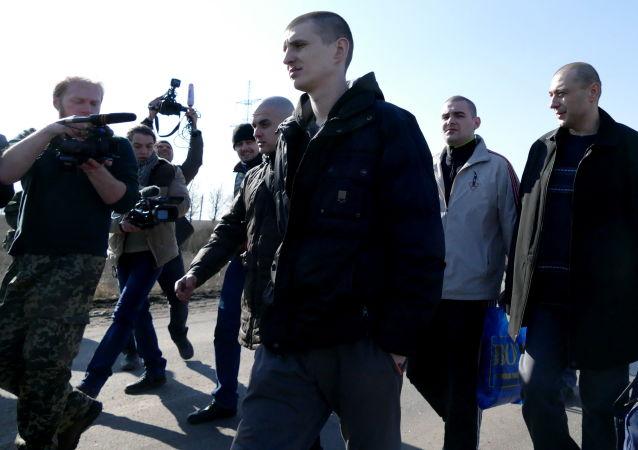 Výměna zajatců mezi DLR a Kyjevem