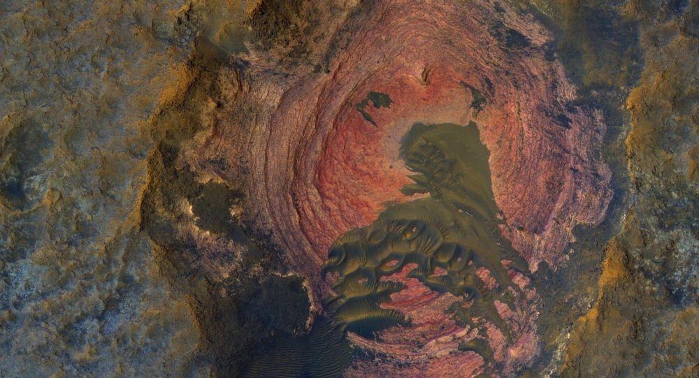 Snímek povrchu Marsu
