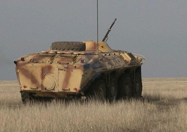 Záběry vojenského cvičení NATO v Rumunsku