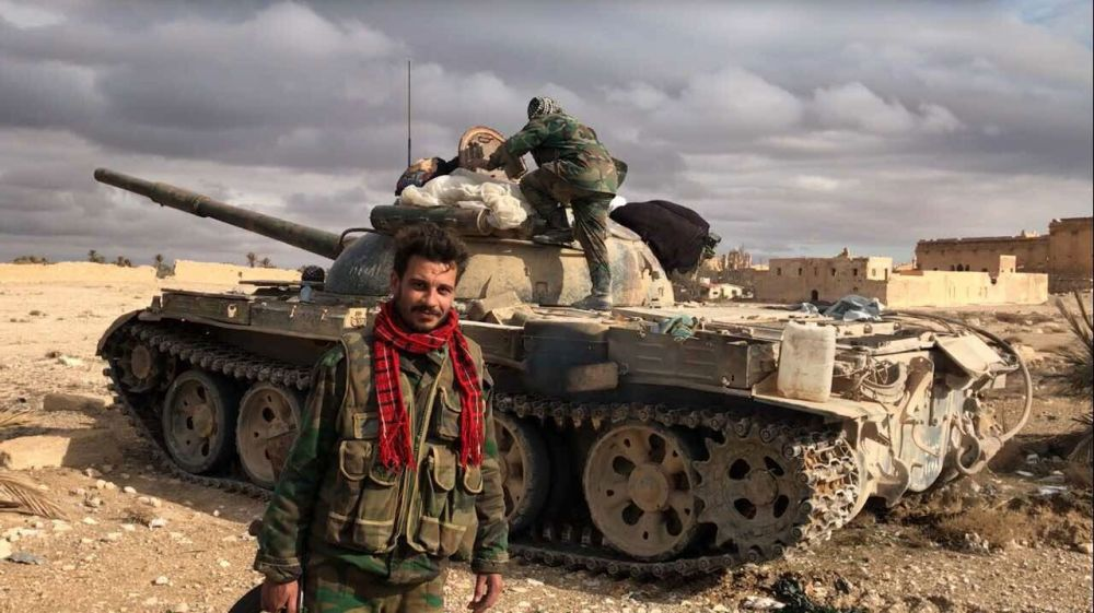 Obsazení Palmýry syrskými vojsky za podpory VKS Ruska
