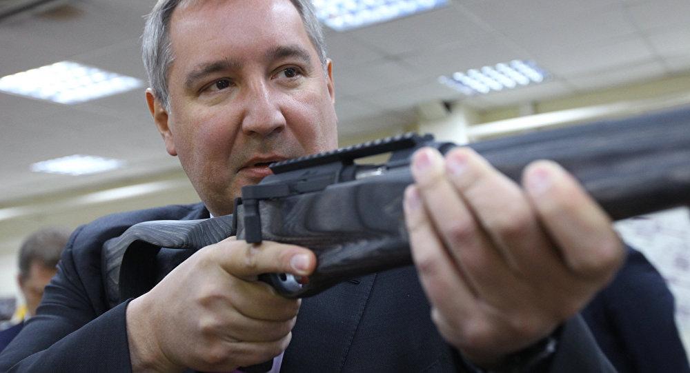 Ruský vicepremiér Dmitrij Rogozin