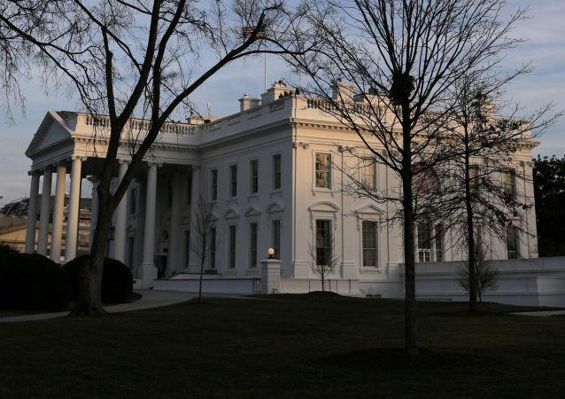 Budova Bílého domu ve Washingtonu