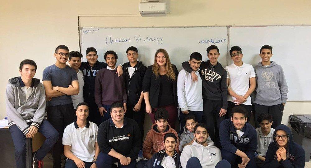 Mgr. Barbora Mastná se svojí třídou