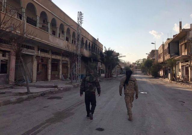 Vojáci v Palmýře