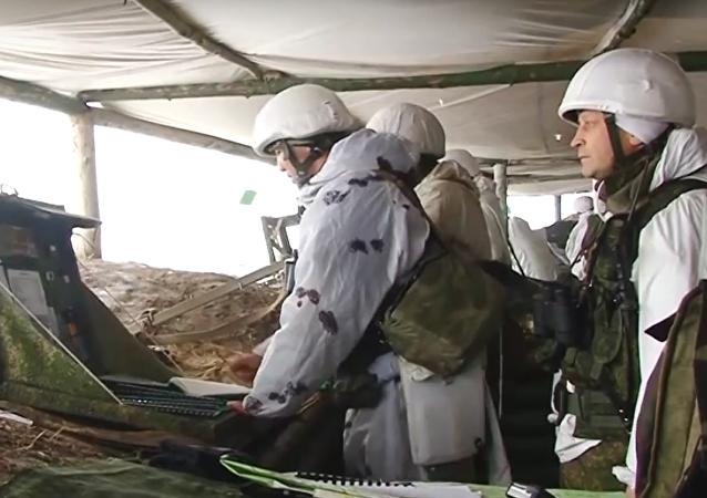 Taktická cvičení jednotek vševojskové armády