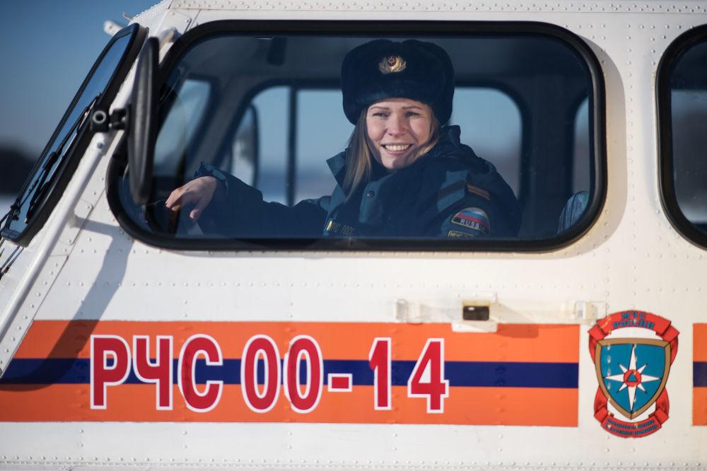 Ruské ženy v neženských profesích