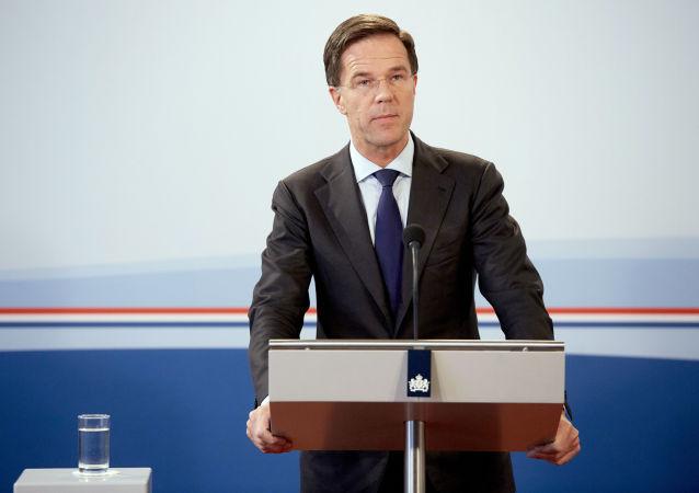 Nizozemský premiéra Mark Rutte