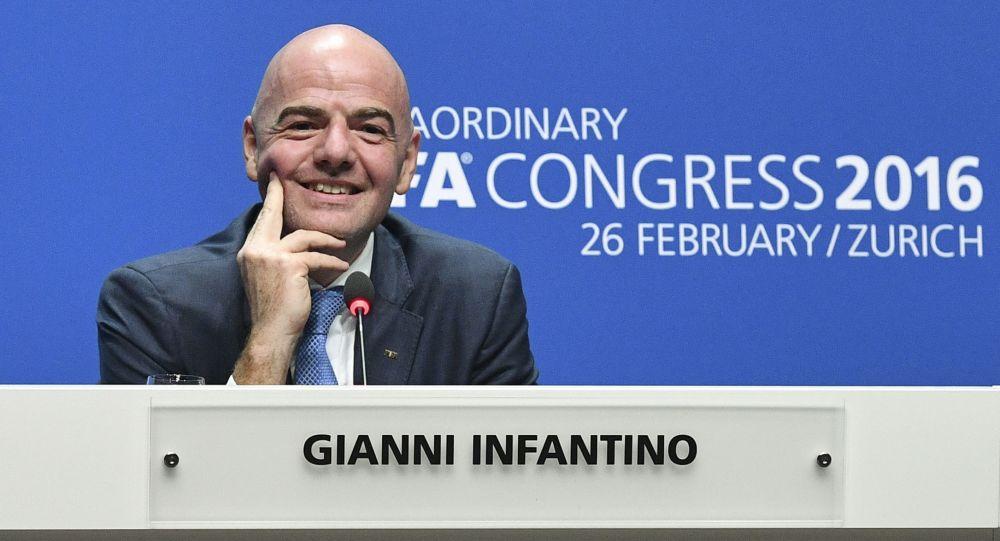 Prezident FIFA Gianni Infantino
