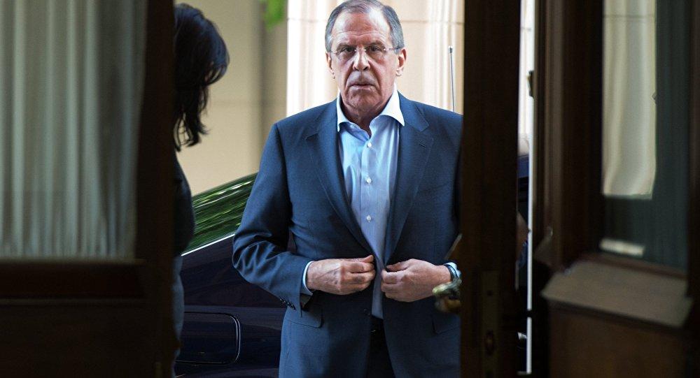 Ruský ministr zahraničních věci Sergej Lavrov