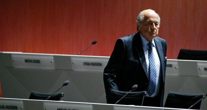 Joseph Blatter, prezident FIFA