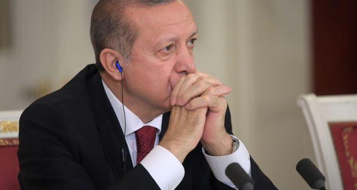 Prezident Turecka Recep Erdogan