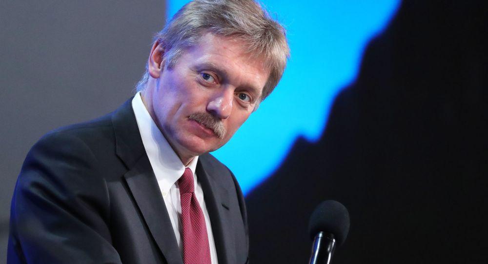 Tiskový tajemník ruského prezidenta Dmitrij Peskov