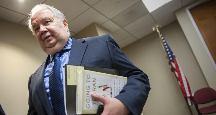 Ruský velvyslanec ve Washingtonu Sergej Kisljak