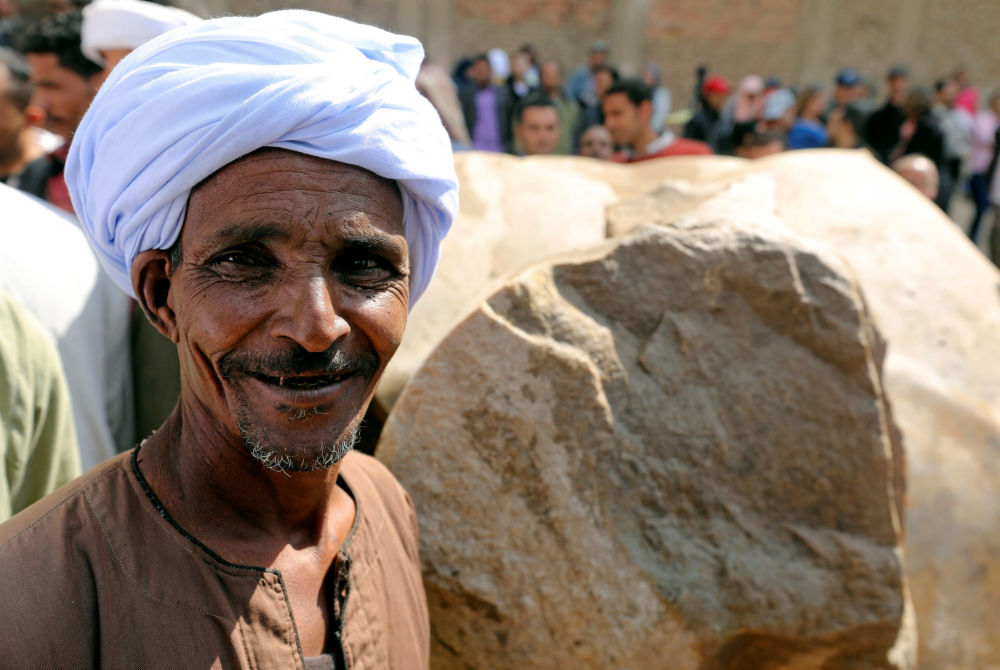 Archeologický nález v Káhiře: kolos Ramesse II.