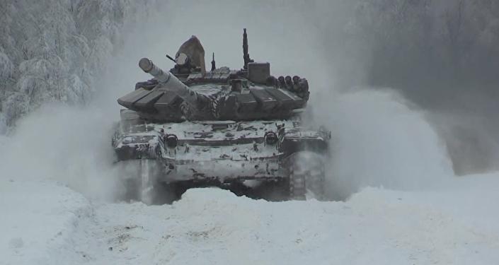 Motorizovaná pěchota Severní flotily se připravuje k ARMY-2017 za Polárním kruhem