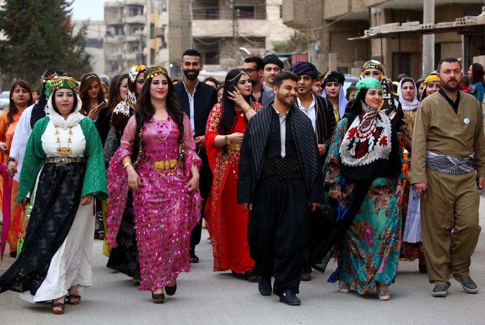 Móda syrských Kurdů