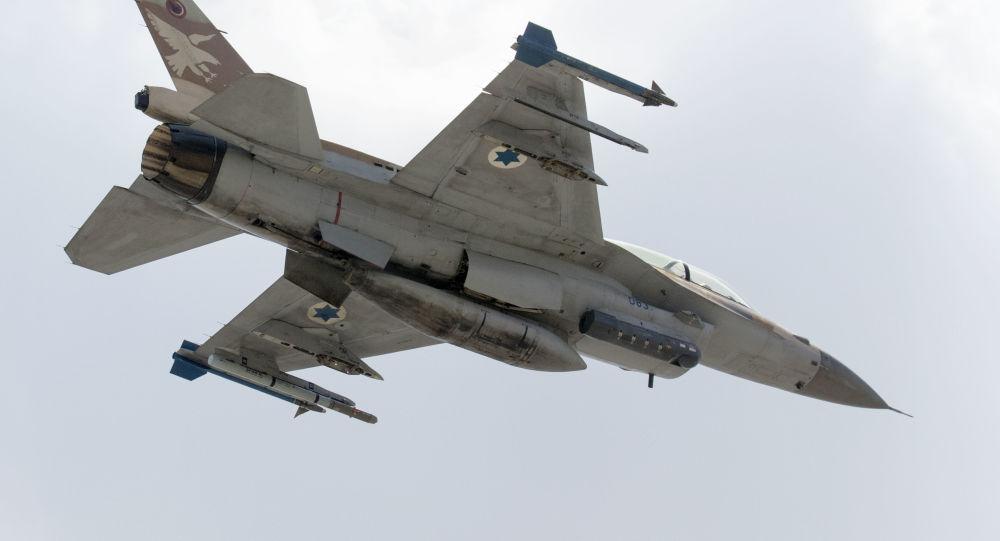 Izraelská stíhačka F-16 D