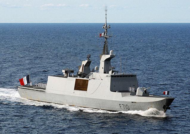 French frigate La Fayette (F-710)