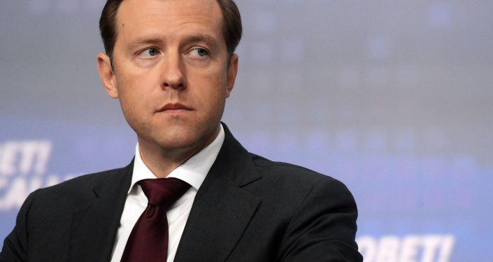 Ruský ministr průmyslu a obchodu Denis Manturov